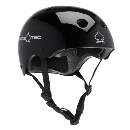 Pro-Tec Classic Certified Helmet Gloss Black Medium